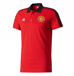 Polohemd Manchester United FC 2017-2018 (Rot)