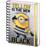 Ich - Einfach Unverbesserlich 3 Notizbuch A5 Yellow Is The New Black