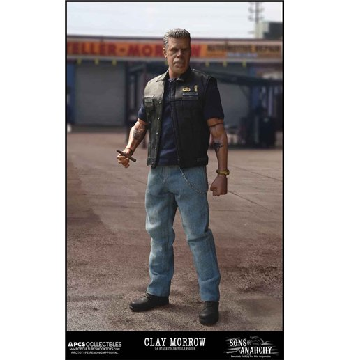 kaufe sons of anarchy actionfigur 1 6 clay morrow 31 cm. Black Bedroom Furniture Sets. Home Design Ideas
