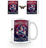 Wonder Woman Tasse Fight For Justice