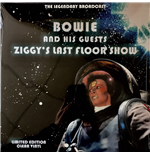 Vinyl David Bowie And His Guests - Ziggys Last Floor Show - The Legendary Brodcast - Clear Vinyl