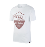 T-Shirt AS Rom 2017-2018 (Weiss)