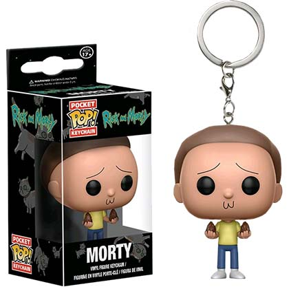 Schlüsselring Rick and Morty Funko Pop