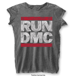T-Shirt Run DMC DMC Logo with Burn Out Finishing