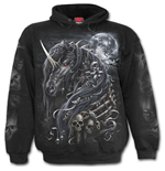 Sweatshirt Spiral Dark Unicorn