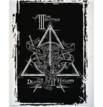 Poster Harry Potter - Deathly Hallows Graphic - 40 x 50 cm.
