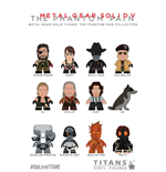 Metal Gear Solid Sammelfiguren The Phantom Pain Collection Titans Display 8 cm (20)