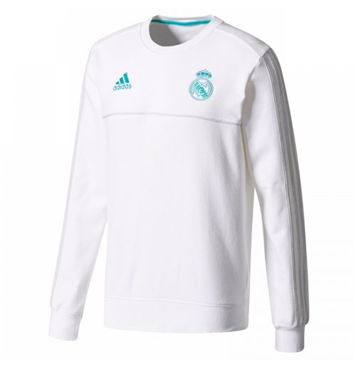 Sweatshirt Real Madrid 2017-2018 (Weiss)
