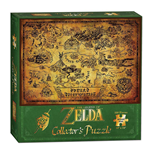 Legend of Zelda Puzzle Hyrule Map