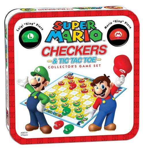 Super Mario Brettspiel Dame Collector's Game