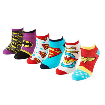 Socken Superhelden DC Comics
