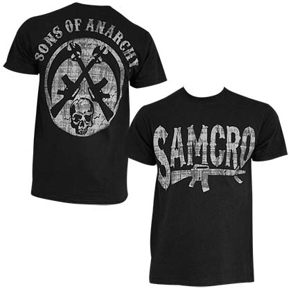 T-Shirt Sons of Anarchy Rifle