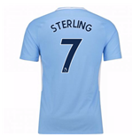 Trikot 2017/18  Manchester City FC 2017-2018 Home (Sterling 7)