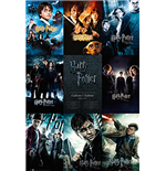 Poster Harry Potter - Collection - Grosse 61 x 91,5 cm.