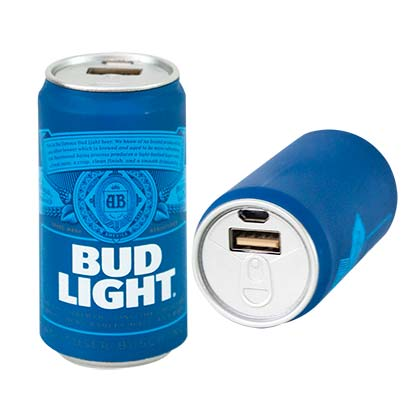 Powerbank Bud Light Charging Power Bank