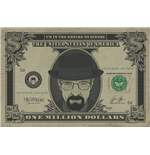 Poster Breaking Bad - Heisenberg Dollar - 61X91,5 Cm