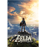 Poster The Legend of Zelda : Breath of The Wild - Sunset - Grosse: 61 x 91,5 cm.