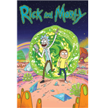 Poster Rick and Morty - Portal - 61 x 91,5 cm.