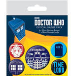 Brosche Doctor Who  271716