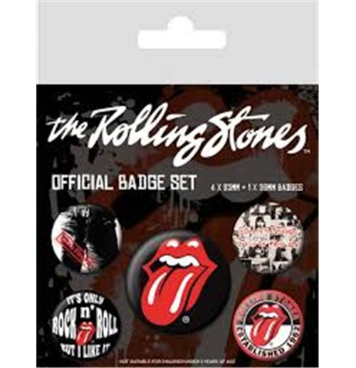 Brosche The Rolling Stones - Classic