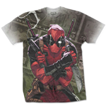 T-Shirt Marvel Superheroes Deadpool Cash