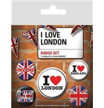 Brosche London 272860