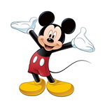 Disney Giant Vinyl Sticker Mickey Mouse