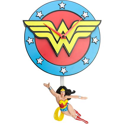 Wanduhr Wonder Woman
