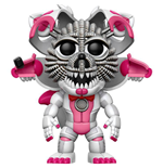 Five Nights at Freddy's POP! Games Vinyl Figur Jumpscare Foxy Summer Convention Exclusive 9 cm