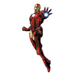 Marvel Comics Giant Vinyl Sticker Iron Man