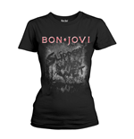 T-Shirt Bon Jovi  Slippery When Wet Album