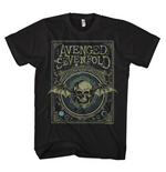 T-Shirt Avenged Sevenfold - Ornate Death Bat