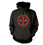 Sweatshirt Deadpool Cracked Logo