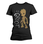 T-Shirt Guardians of the Galaxy Vol 2 I Am Groot Scribbles