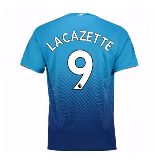 Trikot 2017/18  Arsenal 2017-2018 Away (Lacazette 9) Kinder