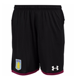 Shorts Aston Villa 2017-2018 Away (Schwarz)