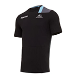 Polohemd Glasgow Warriors 2017-2018 (Schwarz)