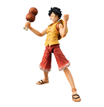 One Piece Variable Action Heroes Actionfigur Monkey D Luffy Past Blue (Yellow Ver.) 17 cm