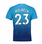 Trikot 2017/18  Arsenal 2017-2018 Away (Wellbeck 23) Kinder