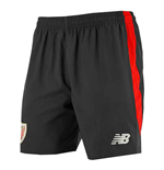 Shorts Athletic Bilbao 2017-2018 Home (Schwarz)