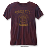 T-Shirt Ramones Forest Hills with Burn Out Finishing