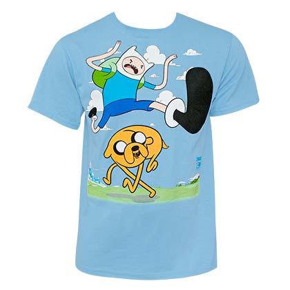 T Shirt Adventure Time Kiick Jump Original Online
