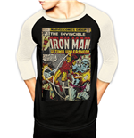 T-Shirt Marvel Comucs - Ironman Comics