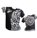 T-Shirt All Blacks Tribal