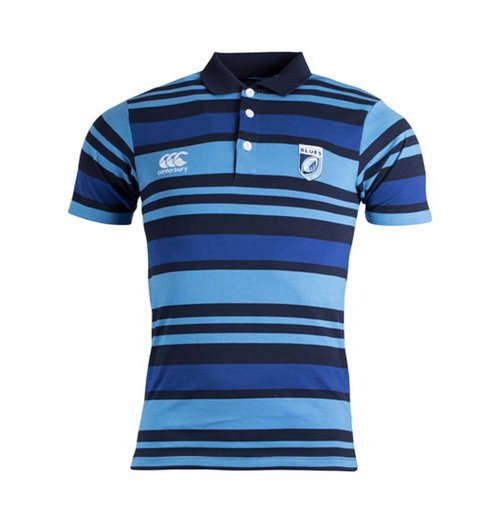 Polohemd Cardiff Blues 2017-2018