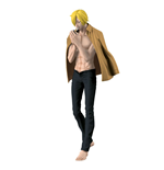 One Piece Body Calender Vol. 2 Figur Sanji Black Pants Version 17 cm