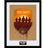Bilderrahmen Call Of Duty   Wwii - Shield - 30x40