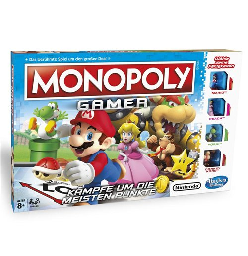 Nintendo Brettspiel Monopoly Gamer Mario Edition *Deutsche Version*