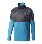 Regenjacke Real Madrid 2017-2018 (Schwarz)