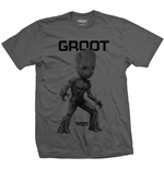 T-Shirt Guardians of the Galaxy Vol. 2 Groot Mono